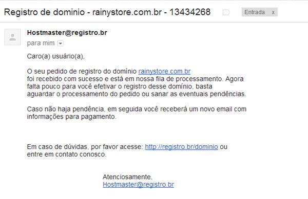 Como registrar um domínio do RegistroBR