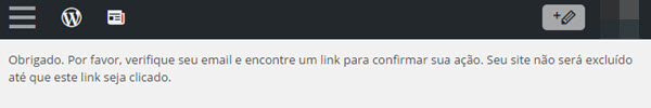 Como excluir um blog no WordPress.com