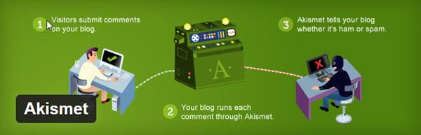 Melhores plugins gratuitos para WordPress - Akismet