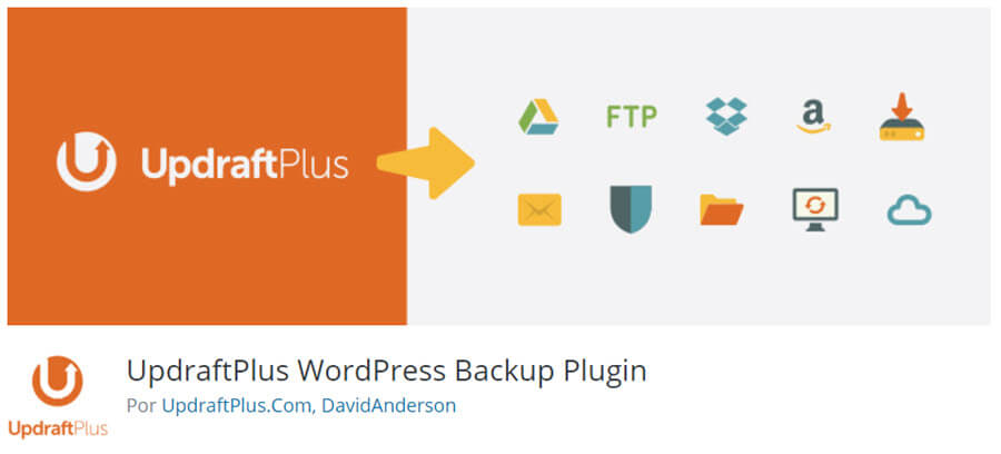 Updraft Plus Backup and Restore