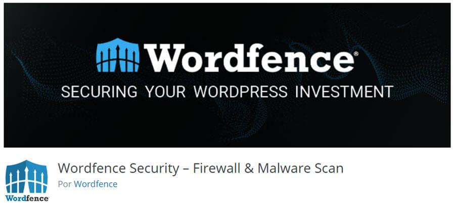 Melhores plugins grátis para WordPress - WordFence Plugin