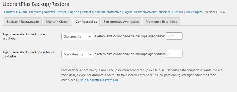 Como fazer backup do blog WordPress no Google Drive